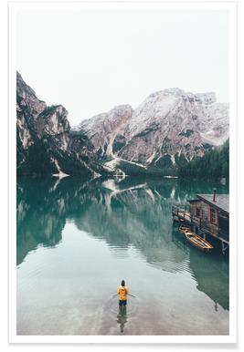 Hidden Lake by Ueli Frischknecht -Poster