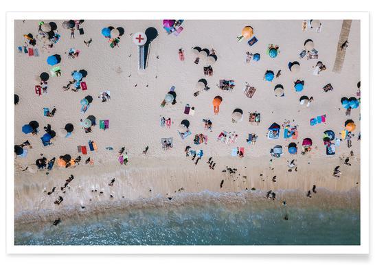 Life's a Beach by Michael Schauer Poster