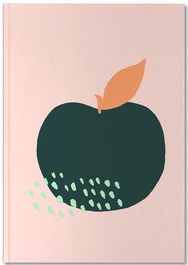 Joyful Fruits - Apple Notizbuch