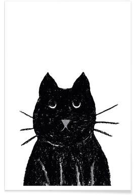 Innocent Cat Poster