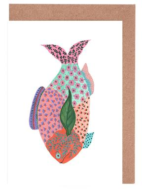 Fancy Fish Greeting Card Set