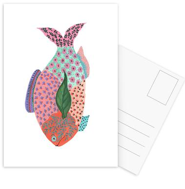 Fancy Fish Postcard Set