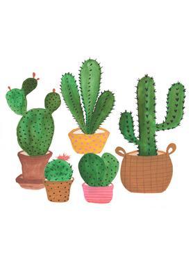 Cactus Family toile
