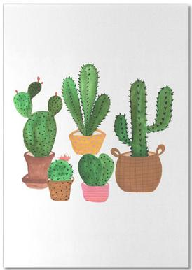 Cactus Family Notepad