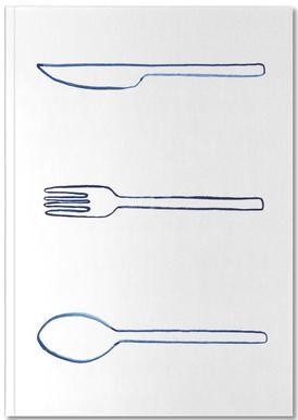 Kitchen Objects Vol.1 Carnet de note