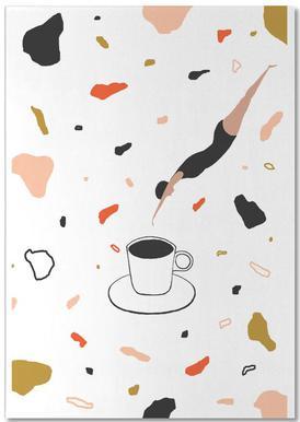 Coffee Lady Notepad