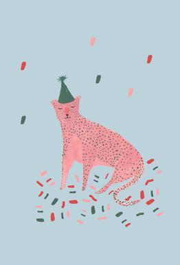 Party Animal Vol.1 Impression sur alu-Dibond