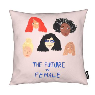 The Future is Female Coussin