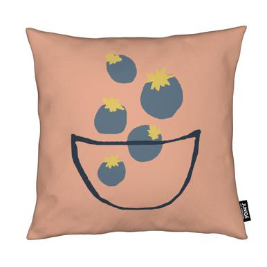 Joyful Fruits - Blueberries Cushion