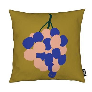 Joyful Fruits - Grapes Coussin