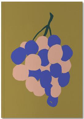 Joyful Fruits - Grapes Carnet de note