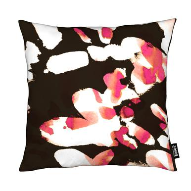 Floral Magenta Coussin