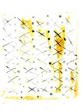 Black Triangle -Leinwandbild