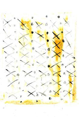 Black Triangle -Acrylglasbild