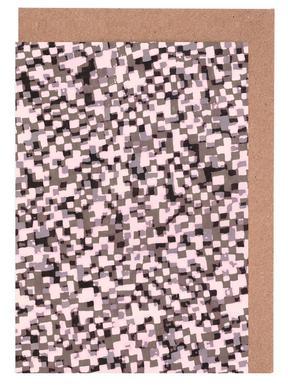 Sahkyi Black Greeting Card Set