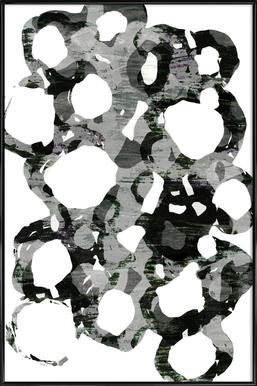Paper Study I -Bild mit Kunststoffrahmen