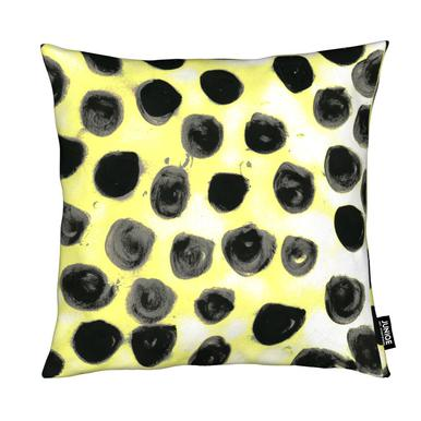 Cross Yellow Coussin