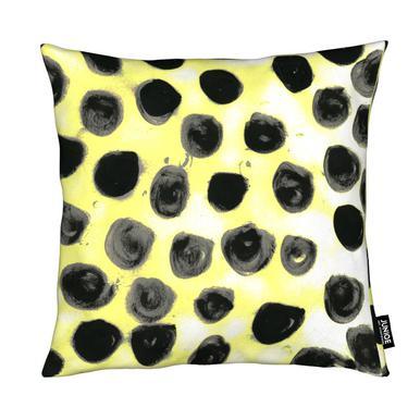 Cross Yellow Cushion