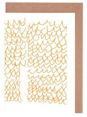 Aquamarine cartes de vœux