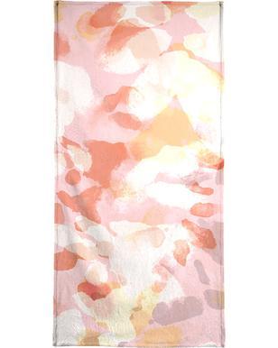 Floral Pastell -Strandtuch