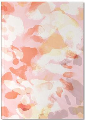 Floral Pastell Carnet de note