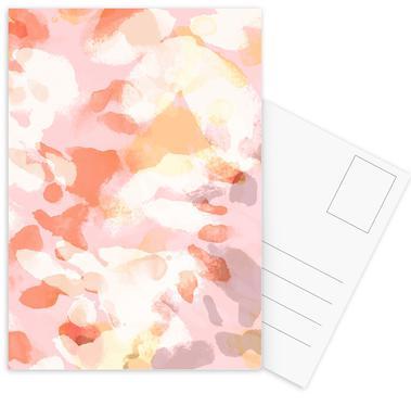 Floral Pastell Postcard Set