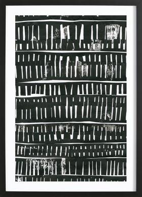 Organical Texture II Framed Print