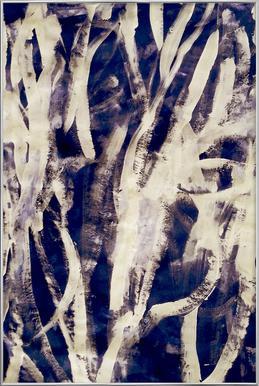 Rakugaki Poster in Aluminium Frame