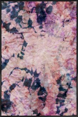 Textile Study Rosé Poster in Standard Frame