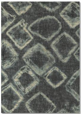 Textile Study Bordeaux Notepad