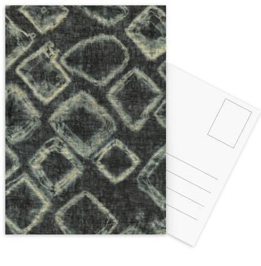 Textile Study Bordeaux Postcard Set