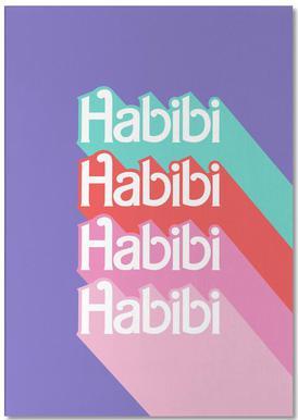 Habibi Rainbow Bloc-notes