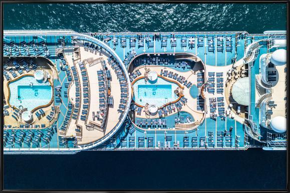 Cruise -Bild mit Kunststoffrahmen