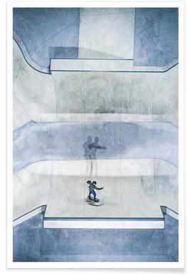 Skate Plakat
