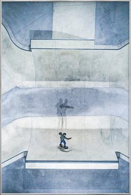Skate Poster in aluminium lijst