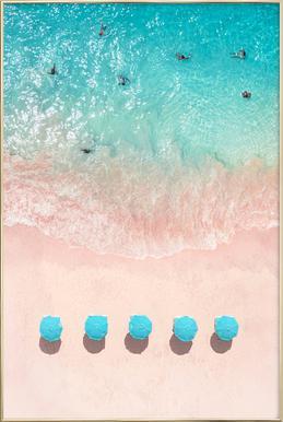 Cape Verde Poster im Alurahmen