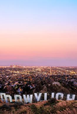 Hollywood Acrylglasbild