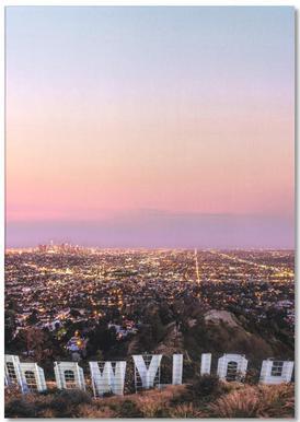 Hollywood -Notizblock