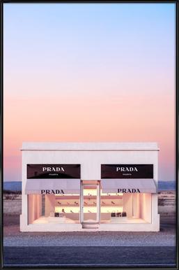 Marfa Poster im Kunststoffrahmen
