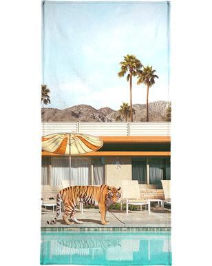 Pool Party Tiger Hand & Bath Towel