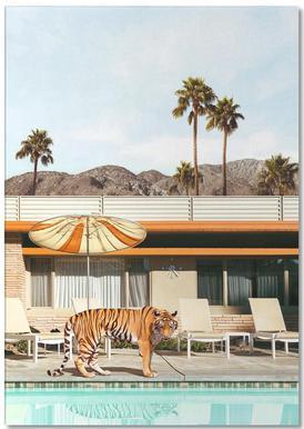 Pool Party Tiger Notizblock