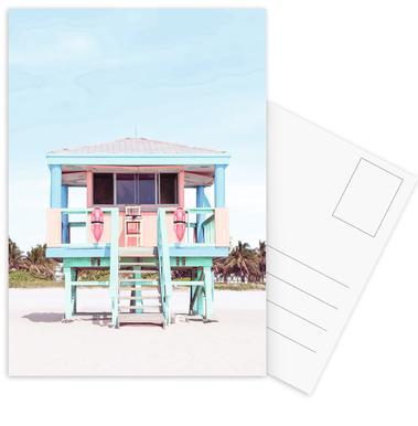 South Beach Postkartenset