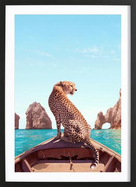 Los Cabos Poster in Wooden Frame