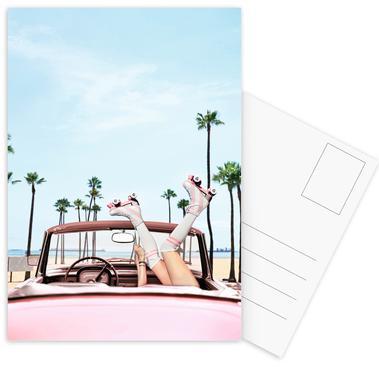 Long Beach Postcard Set