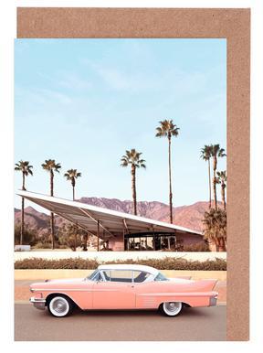Palm Springs Car Greeting Card Set