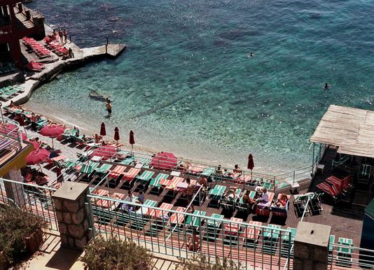 Amalfi -Leinwandbild