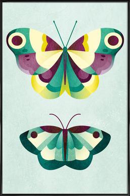 Schmetterlinge Framed Poster