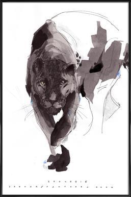 Black Panther Framed Poster
