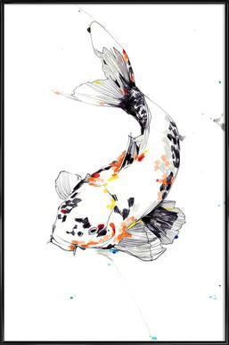 Koi Framed Poster
