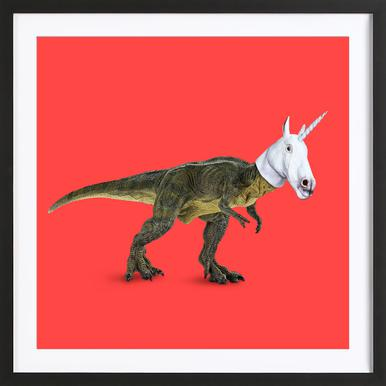 Everyone Wants to Be a Unicorn, Isn'T It? Framed Print